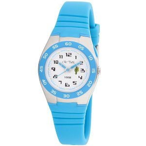 カクタス キッズ腕時計 CACTUS 子供用時計 10気圧防水 ELバックライト ブルー CAC75-M03  ギフト プレゼント 記念品 誕生日 zennsannnet