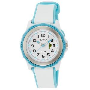 カクタス キッズ腕時計 CACTUS kids 子供用時計 ブルーホワイト CAC78-M11 ギフト プレゼント 記念品 誕生日|zennsannnet