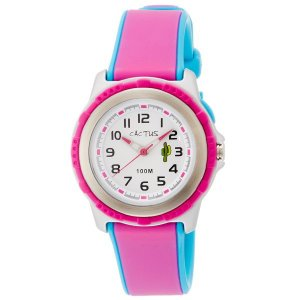 カクタス キッズ腕時計 CACTUS kids 子供用時計 ピンク CAC78-M55 ギフト プレゼント 記念品 誕生日 zennsannnet