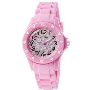 カクタス キッズ腕時計 CACTUS kids 子供用時計 カラフルインデックス ピンク CAC91-L05 ギフト プレゼント 記念品 誕生日 zennsannnet