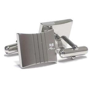 クレージュ courrege カフスボタンcuffs ブランド ロジウム CC5002 ギフト プレゼント 贈答品|zennsannnet