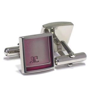クレージュ courrege カフスボタンcuffs ブランド エポキシ CC6002B ギフト プレゼント 贈答品|zennsannnet