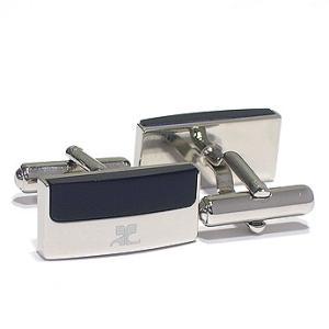 クレージュ courrege カフスボタンcuffs ブランド アクリル CC6006B ギフト プレゼント 贈答品|zennsannnet
