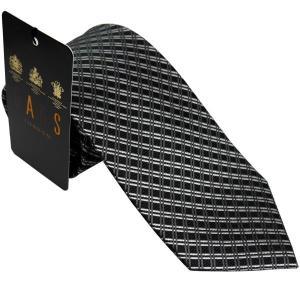 ダックス DAKS 紳士ブランドネクタイ necktie  ダークグレー系 d11002color1 ギフト プレゼント 父の日ギフト|zennsannnet
