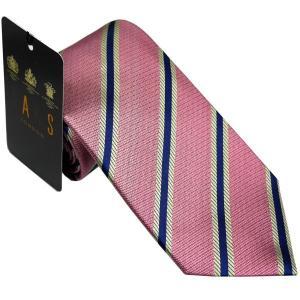 ダックス DAKS 紳士ブランドネクタイ necktie ピンクxネイビー系 d11049color5 ギフト プレゼント 父の日ギフト|zennsannnet