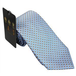 ダックス DAKS 紳士ブランドネクタイ necktie ブルー系 d11514color2 ギフト プレゼント 父の日ギフト|zennsannnet