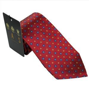 ダックス DAKS 紳士ブランドネクタイ necktie レッド系 d11516color3 ギフト プレゼント 父の日ギフト|zennsannnet