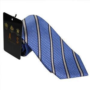 ダックス DAKS 紳士ブランドネクタイ necktie ブルー系 d11538color3 ギフト プレゼント 父の日ギフト|zennsannnet