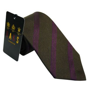 ダックス DAKS ネクタイ 紳士ネクタイ necktie 1062 ダークブラウン系 ギフト プレゼント 贈答品|zennsannnet