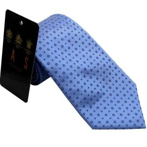 ダックス DAKS 紳士ブランドネクタイ necktie 1209 ライトブルー系|zennsannnet