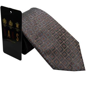 ダックス DAKS 紳士ブランドネクタイ necktie 1250 グレー系|zennsannnet