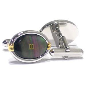 ダックス DAKS カフスボタン ロジウムメッキ カフリンクス  DC12026 夜光貝 ギフト プレゼント 贈答品|zennsannnet