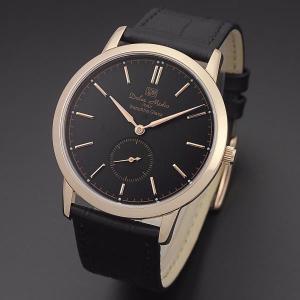 ドルチェ・メディオ Dolce Medio メンズ腕時計 ドレスウォッチ DM11210-PGBK ブラックフェイス|zennsannnet