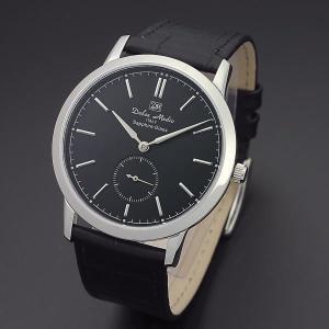 ドルチェ・メディオ Dolce Medio メンズ腕時計 ドレスウォッチ DM11210-SSBK ブラックフェイス|zennsannnet