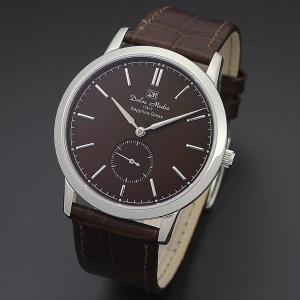 ドルチェ・メディオ Dolce Medio メンズ腕時計 ドレスウォッチ DM11210-SSBR ブラウンフェイス|zennsannnet
