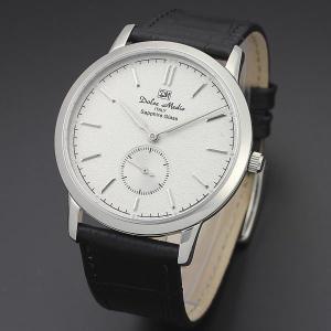 ドルチェ・メディオ Dolce Medio メンズ腕時計 ドレスウォッチ DM11210-SSWH ホワイトフェイス|zennsannnet