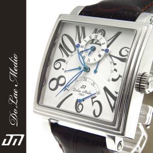 ドルチェ・メディオ Dolce Medio メンズ腕時計 自動巻き レトログラード機構 オートマチック  DM8009-WH|zennsannnet