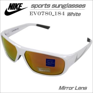 ナイキ スポーツ サンクラス ホワイト NIKE MERCURIAL6.0R EV0780-184 ミラーレンズ仕様品|zennsannnet