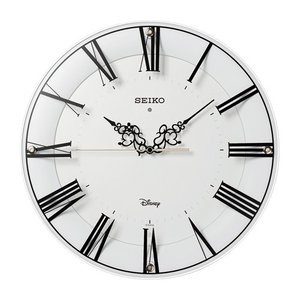Disney Time ディズニータイム スワロスキー 電波掛け時計 FS506W ギフト プレゼント 誕生日 zennsannnet