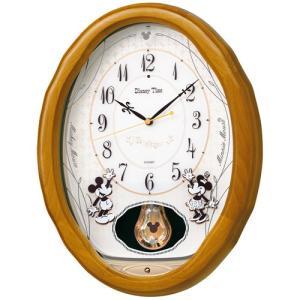 Disney Time ディズニータイム  SEIKO 電波 振り子メロディ掛け時計 FW575B ギフト プレゼント 誕生日 入園祝い zennsannnet