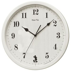 Disney Time ディズニータイム 掛け時計 ナチュラルミッキー FW577A ギフト プレゼント 誕生日 入園祝い zennsannnet