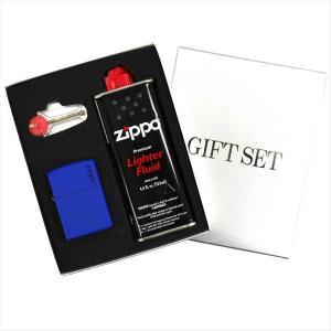 ZIPPO ギフトBOXセット(オイル・フリント付き) レギュラーサイズ マットカラーシリーズ ロイヤルマット 229ZL|zennsannnet