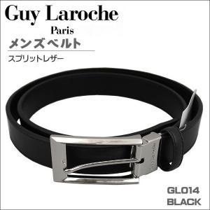 ギラロッシュ メンズベルト ビジネスベルト GuyLaroche GL014 BLACK ギフト プレゼント 贈答品|zennsannnet