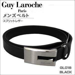 ギラロッシュ メンズベルト ビジネスベルト GuyLaroche GL018 BLACK ギフト プレゼント 贈答品|zennsannnet