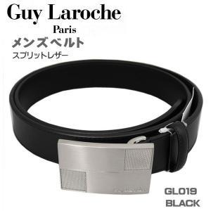 ギラロッシュ メンズベルト ビジネスベルト GuyLaroche GL019 BLACK ギフト プレゼント 贈答品|zennsannnet