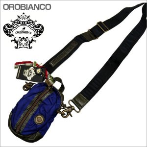 OROBIANCO オロビアンコ ショルダーバッグ ボディバック ネイビー系 GRAFFIO MINI-G OR168 BLU-02 ギフト プレゼント|zennsannnet