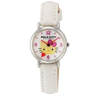 ハローキティ 腕時計  HELLO KITTY 子供用腕時計 キッズウォッチ ホワイト HK07-131|zennsannnet