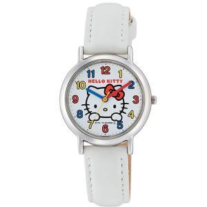 ハローキティ 腕時計  HELLO KITTY 子供用腕時計 キッズウォッチ ホワイト HK15-001|zennsannnet