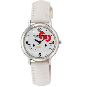 ハローキティ 腕時計  HELLO KITTY 子供用腕時計 キッズウォッチ ホワイト HK15-131|zennsannnet