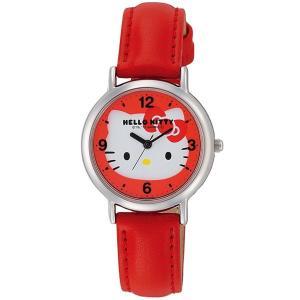 ハローキティ 腕時計  HELLO KITTY 子供用腕時計 キッズウォッチ レッド HK15-132|zennsannnet