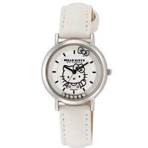 ハローキティ 腕時計  HELLO KITTY 子供用腕時計 キッズウォッチ ホワイト HK17-131|zennsannnet