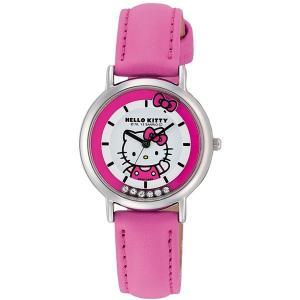 ハローキティ 腕時計  HELLO KITTY 子供用腕時計 キッズウォッチ ピンク HK17-132|zennsannnet