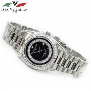 メンズ腕時計 ブラックカラー 10気圧防水 デイトカレンダー アイザック・バレンチノ IVG-1000-6|zennsannnet