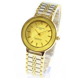 メンズ腕時計 アイザック・バレンチノ Izax Valentino  ゴールドフェイス IVG200-1|zennsannnet