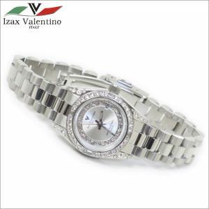 レディス腕時計 シルバーカラー 10気圧防水 デイトカレンダー アイザック・バレンチノ IVL-1000-5|zennsannnet