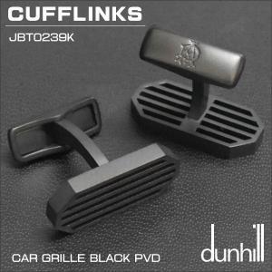 ダンヒル DUNHILL カフスボタン CUFFLINKS CAR GROLLE BLACK PVD JBT0239K ギフトプレゼント 贈答品|zennsannnet