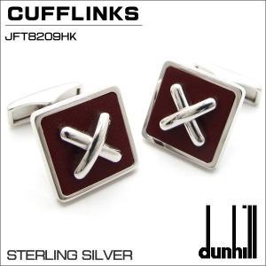 ダンヒル DUNHILL カフスボタン CUFFLINKS SV925 PINK LACQUER JFT8209HK ギフトプレゼント|zennsannnet
