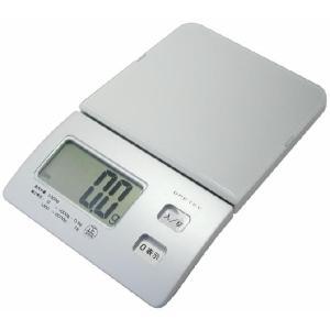 スリムスケール 2kg ハカリ バックライト機能付き KS226-SV|zennsannnet