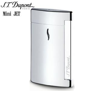 St.デュポン ST.DUPONT ミニジェット 電子ガスターボライター 喫煙具 シャイニークローム 10502|zennsannnet