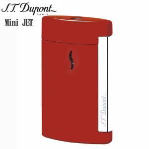 St.デュポン ST.DUPONT ミニジェット 電子ガスターボライター 喫煙具 レッド 10505|zennsannnet