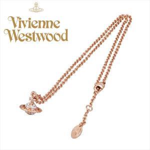 ヴィヴィアン・ウエストウッド ネックレス メイフェア 3D ピンクゴールド スモールオーヴ MT12626-4 vivienne westwood ギフト プレゼント 誕生日|zennsannnet