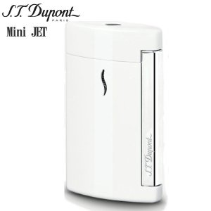 St.デュポン ST.DUPONT ミニジェット 電子ガスターボライター 喫煙具 ホワイト 10506|zennsannnet