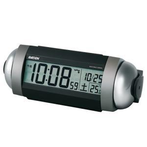 SEIKO CLOCK 目覚し時計 スーパーライデン デジタル 電波時計 大音量 NR530S ギフト プレゼント|zennsannnet