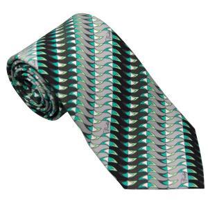 エミリオ プッチ EMILIO PUCCI 紳士ネクタイ necktie シルク100% イタリー製 P7011-3 ギフト プレゼント 贈答品 記念品|zennsannnet
