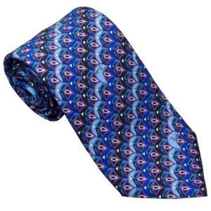 エミリオ プッチ EMILIO PUCCI 紳士ネクタイ necktie シルク100% イタリー製 P7012-3 ギフト プレゼント 贈答品 記念品|zennsannnet