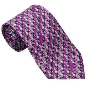 エミリオ プッチ EMILIO PUCCI 紳士ネクタイ necktie シルク100% イタリー製 P7012-4 ギフト プレゼント 贈答品 記念品|zennsannnet